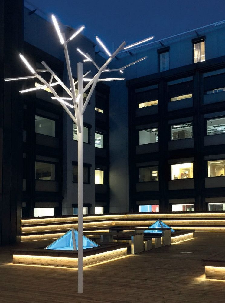 Led Decorative Lighting Albero By Iguzzini Illuminazione