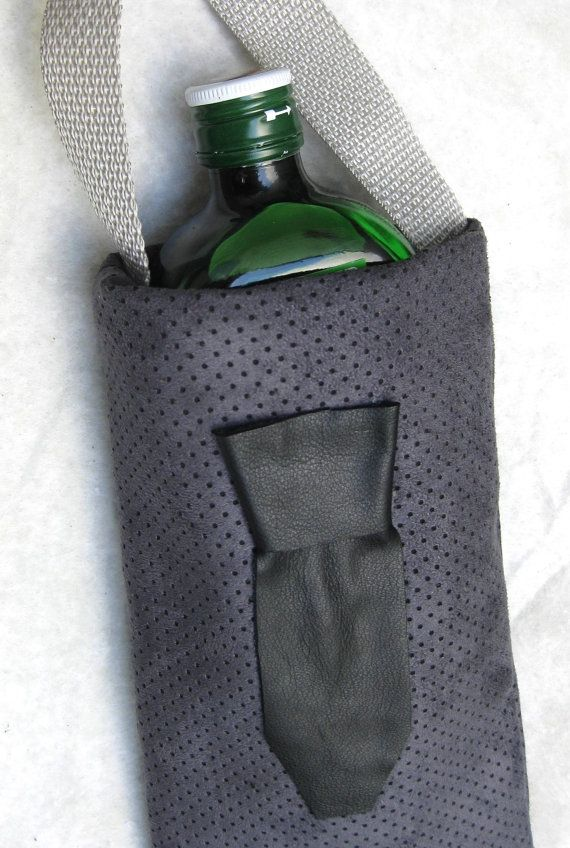 Wine Bag for Groomsmen  Men's Tie  Custom and Set by SinceSass, $14.00