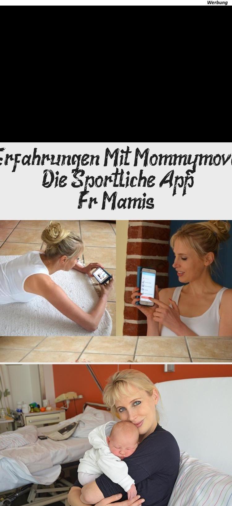 """(Anzeige) Wie werde ich nach der Geburt wieder schlank? Heute teste ich die Fitness App """"Mommymove""""..."""