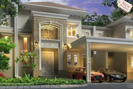 Rumah Mewah Model Mediterania Ala Lippo Karawang Model Rumah Mediterania Yang Diusung Oleh Perusahaan Property