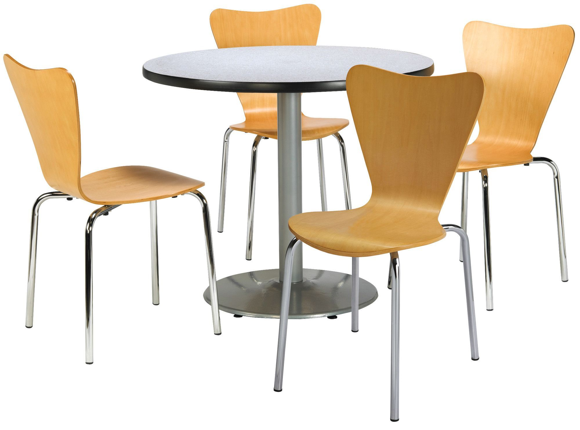 Adda 5 Piece Dining Set 5 Piece Dining Set Cafe Chairs Bentwood Chairs