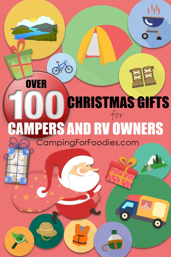 2020 Totally Unique 100+ Christmas Gifts For Campers And ...