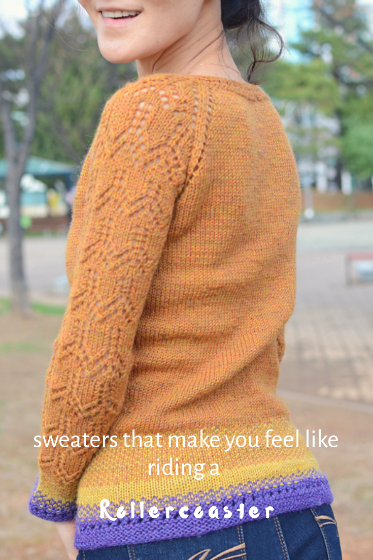 What is your most heartbroken moment with your stitching? Did you ever get over it? Isn't knitting something gives you tears and laughs from time to time? I guess that's one of the reasons I love knitting. How ironic! #knittingsweater #knittingpullover #Ravelry #DropsDesign #gotosweater