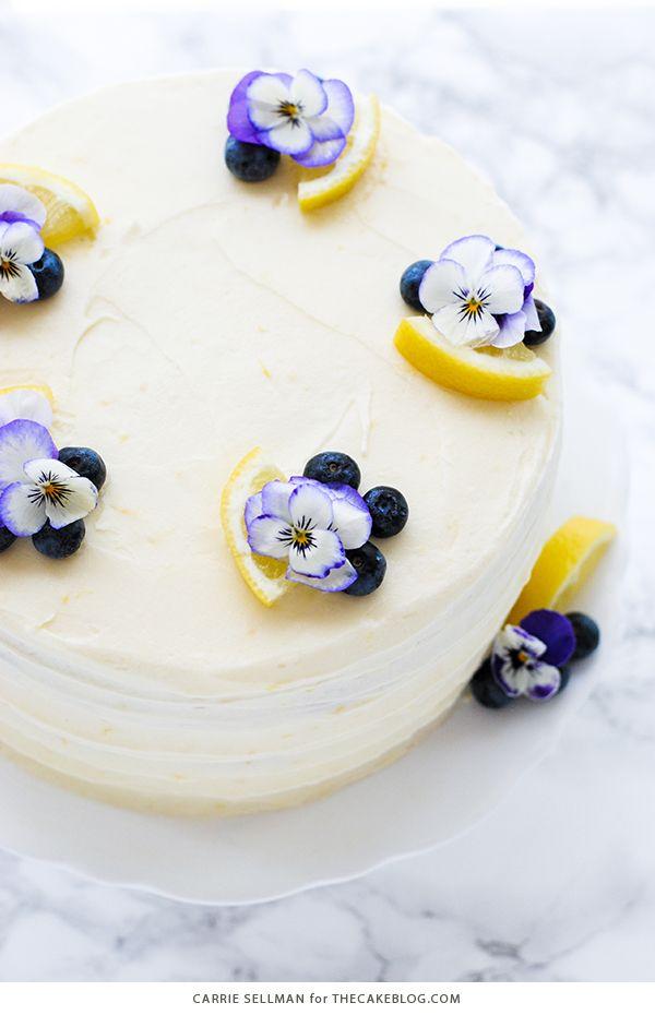 Lemon Blueberry Cake The Cake Blog Recipe Blueberry Lemon Cake Mothers Day Desserts Blueberry Lemon Cake Recipe