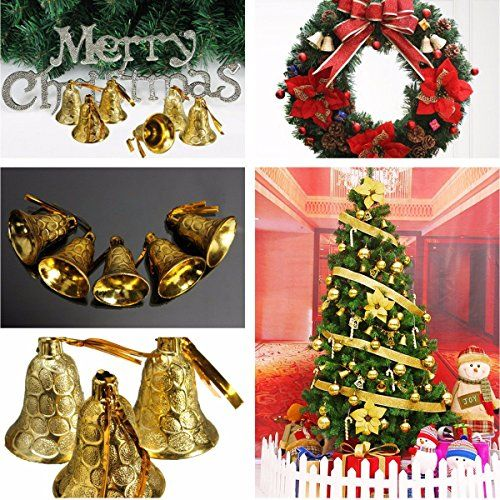 Bargain World 9pcs Christmas Hanging Jingle Bell Christmas Xmas Tree Decor ** You can find more details by visiting the image link.