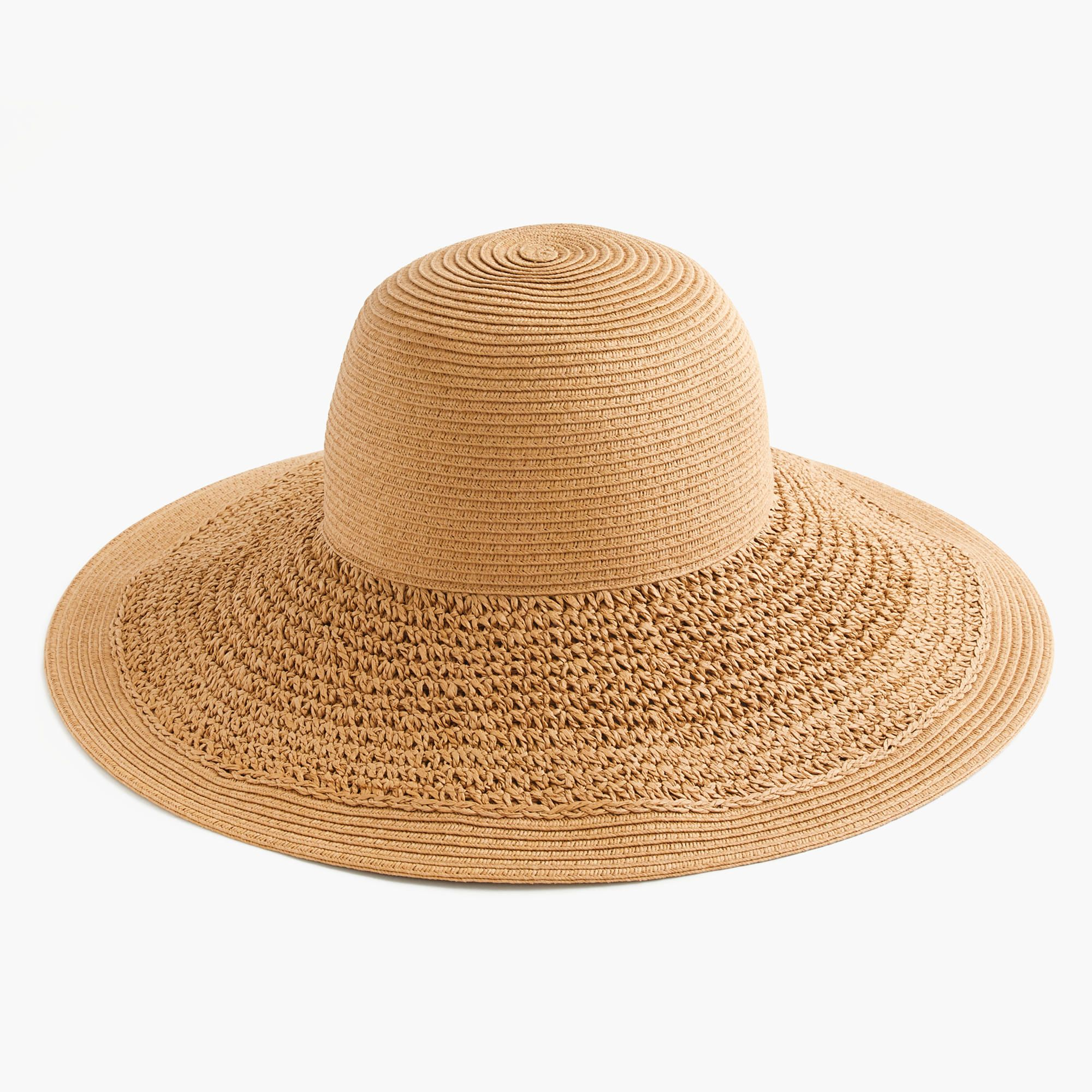 Shop the Textured Summer Straw Hat at JCrew.com and see our entire  selection of Women s Hats. 83e1074678