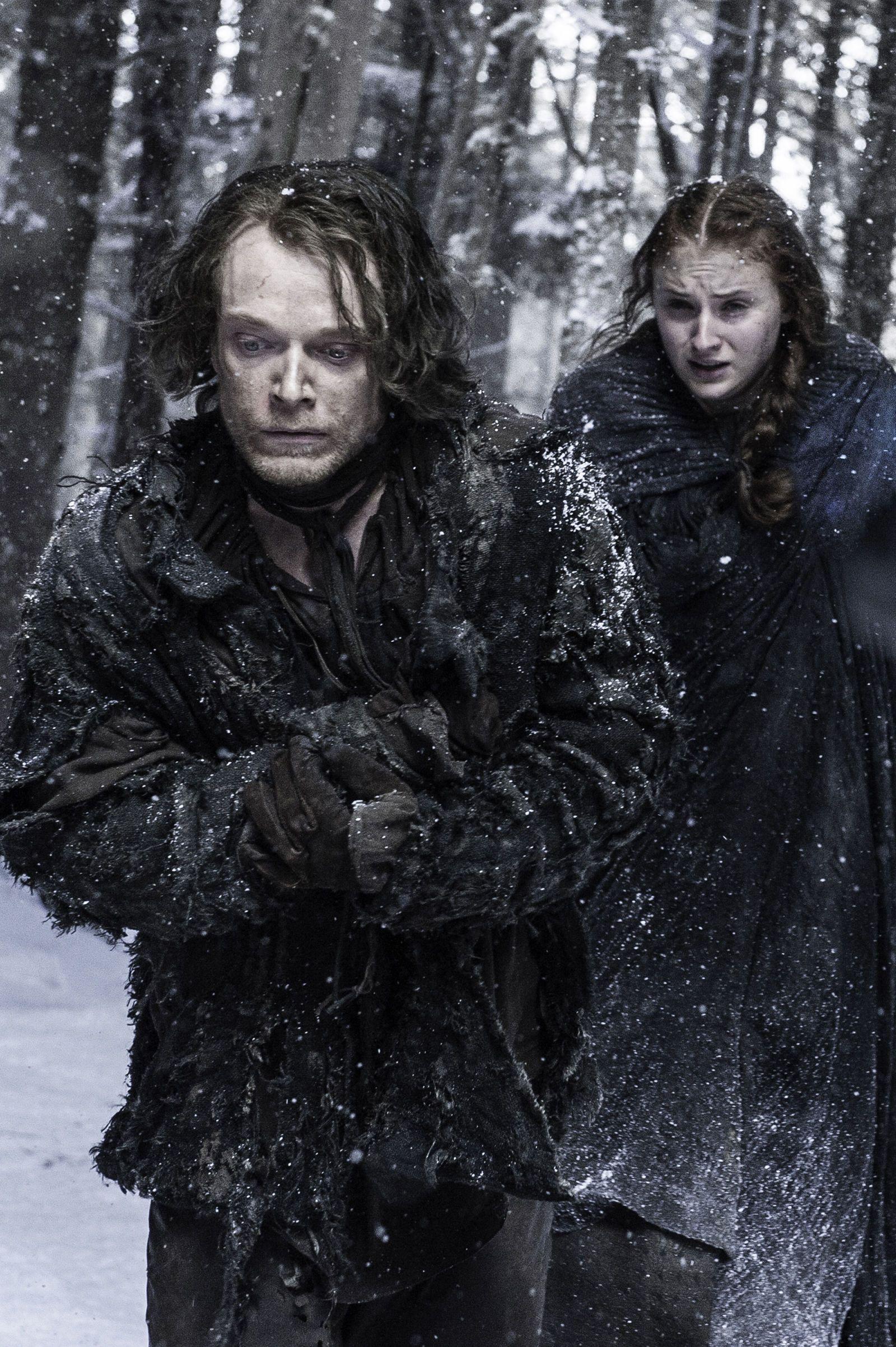 Game of Thrones Season 6 Episode 1 Sansa, Theon greyjoy