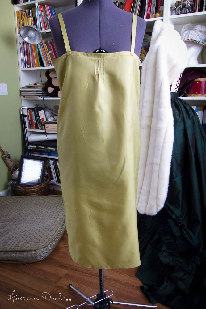 American Duchess: V351: How To Make the Simplest 1920s Slip