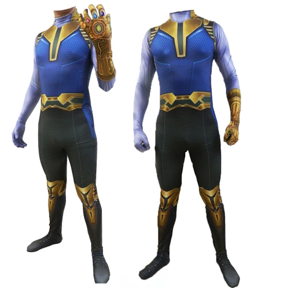 Avengers 4 Endgame Cosplay Iron Man Costume Zentai Jumpsuit Bodysuit Festival