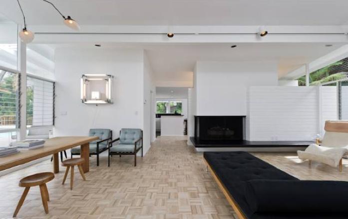 Parquet Floors Mid Century Modern