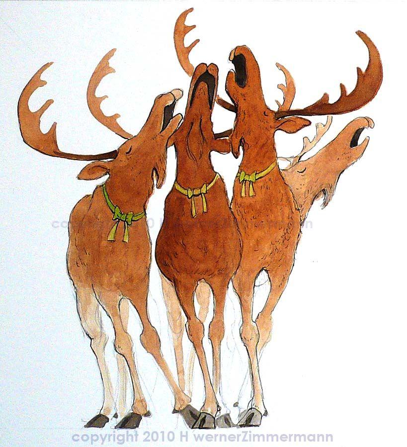 free christmas moose clipart image 11574 christmas - Christmas Moose