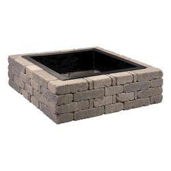 DIY firepit   Fire pit kit, Brick fire pit, Fire pit decor