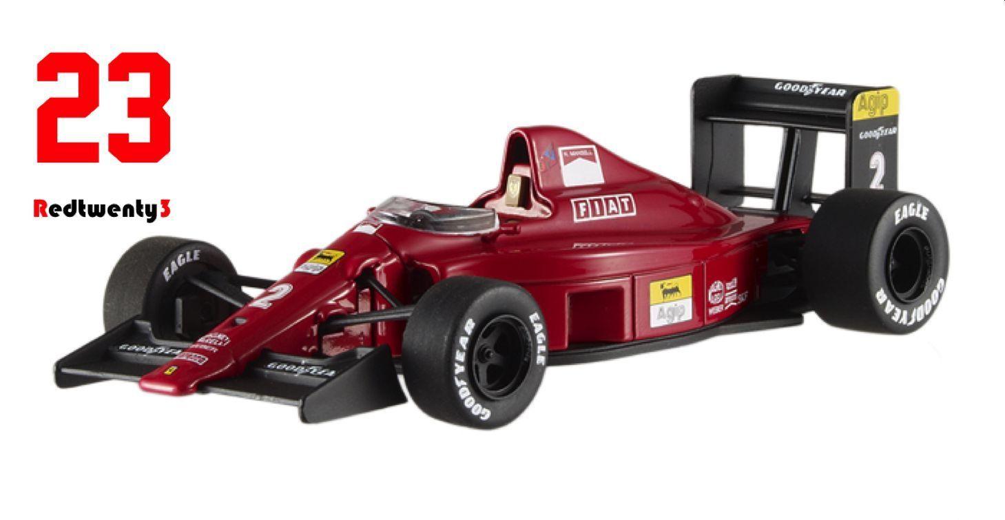 #Hotwheels 1/43 ferrari 641 formula 1 1990 brazil gp #nigel #mansell car model, View more on the LINK: www.zeppy.io/...