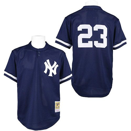 69535c0b ... New York Yankees Don Mattingly Authentic 1995 BP Jersey by Mitchell Ness  at MLB.