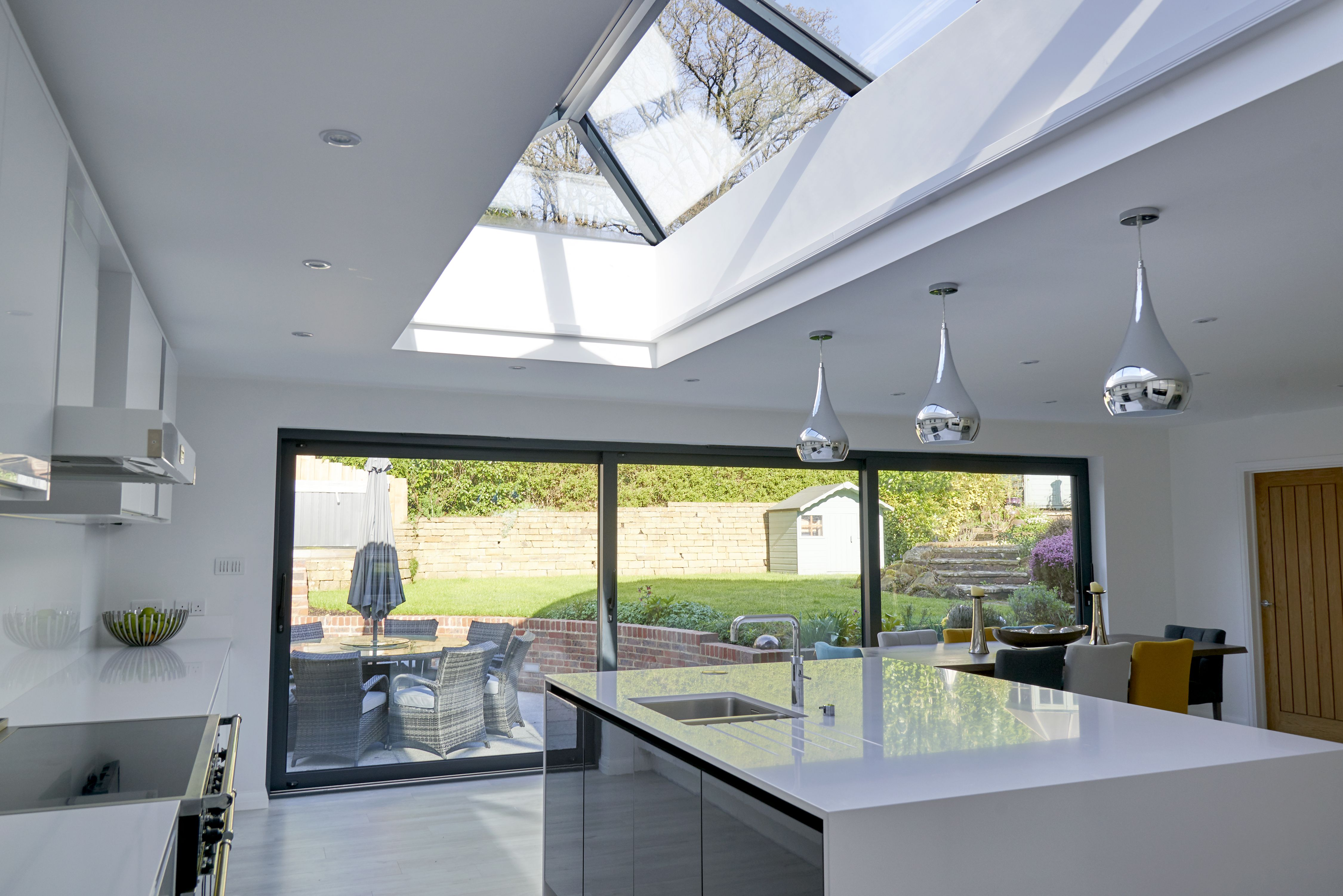 This beautiful Ultrasky Lantern Roof has been fitted on a