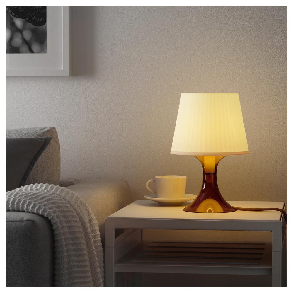 Lampan Lampe De Table Brun 29 Cm Ikea Lampes De Table Eclairage Ikea Ikea