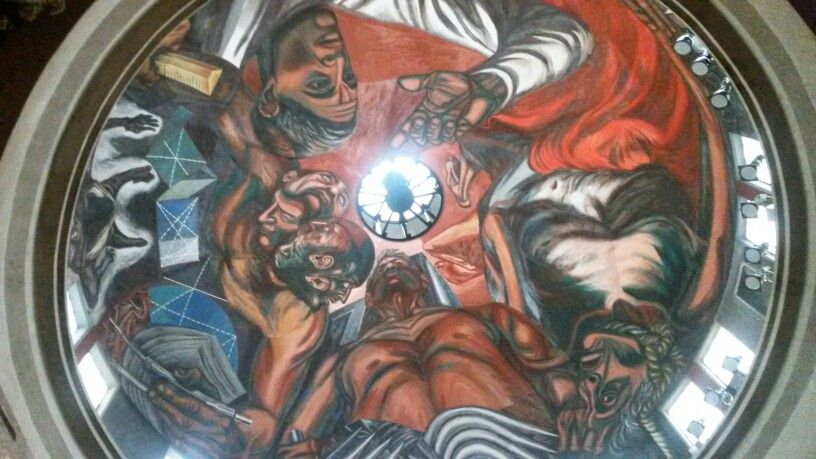Paraninfo Del Musa Udg Mural De Jose Clemente Orozco
