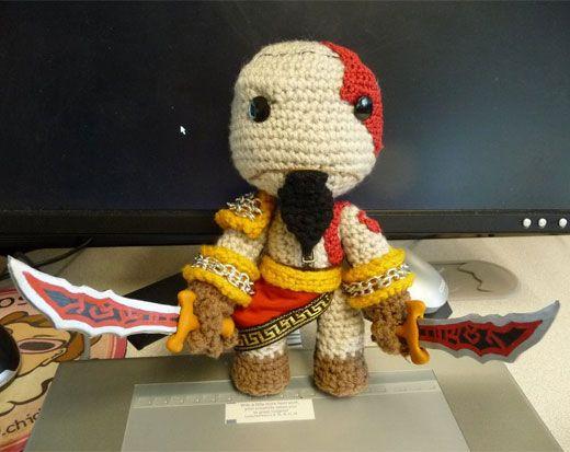 Blasts From the Past in Custom Crochet Sackboy Form | yarn\'n\'stuff ...