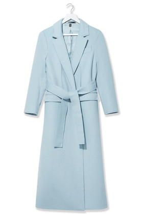 Cashmere Wrap Coat By Boutique - Pale Blue - http://musteredlady.com/cashmere-wrap-coat-by-boutique-pale-blue/  .. http://goo.gl/RN9PQR |  MusteredLady.com