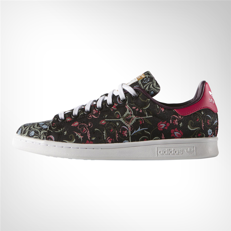best website 0e1bc e7866 Womens adidas Stan Smith Tapestry Shoe