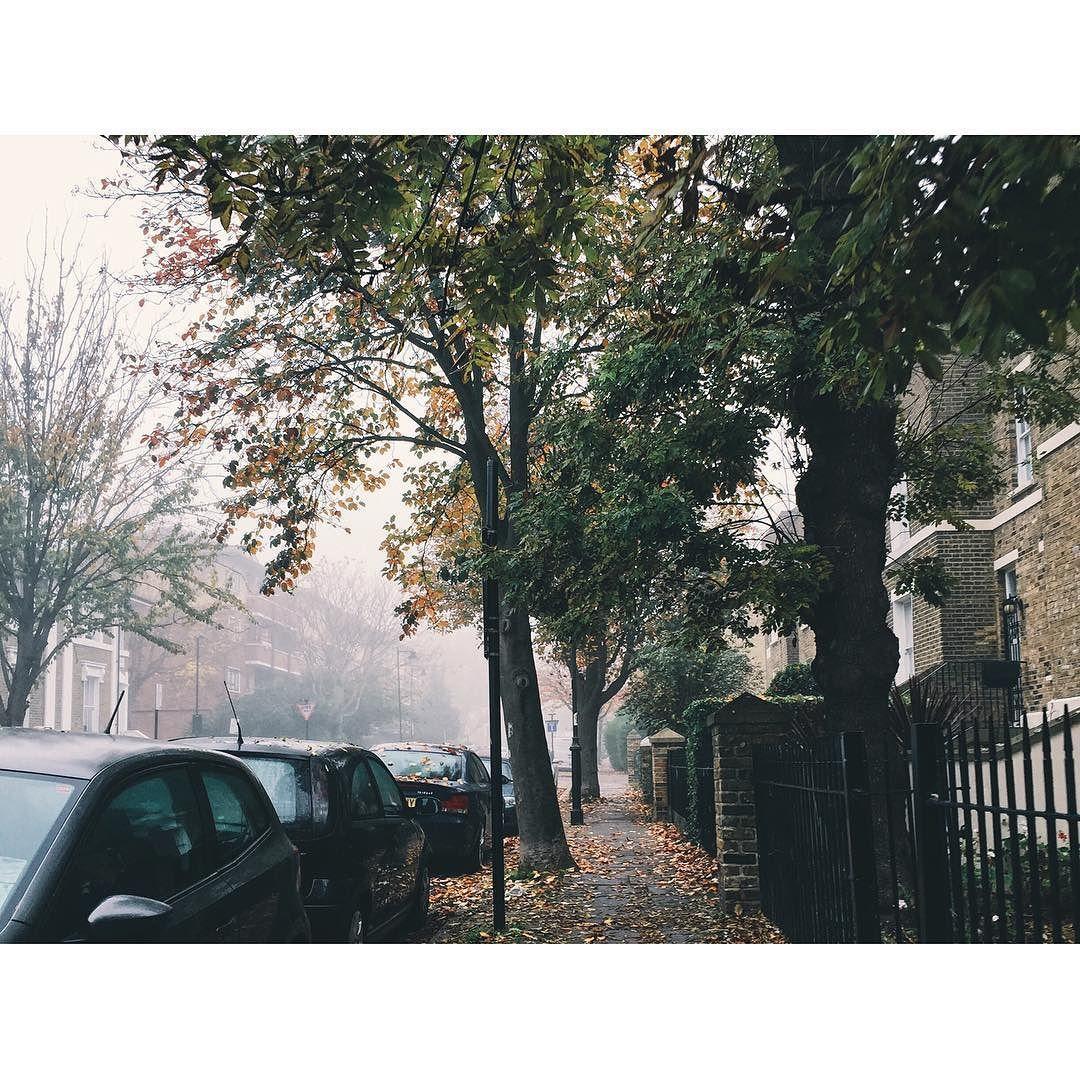 #fog#islington#london#cold#november by laurailari