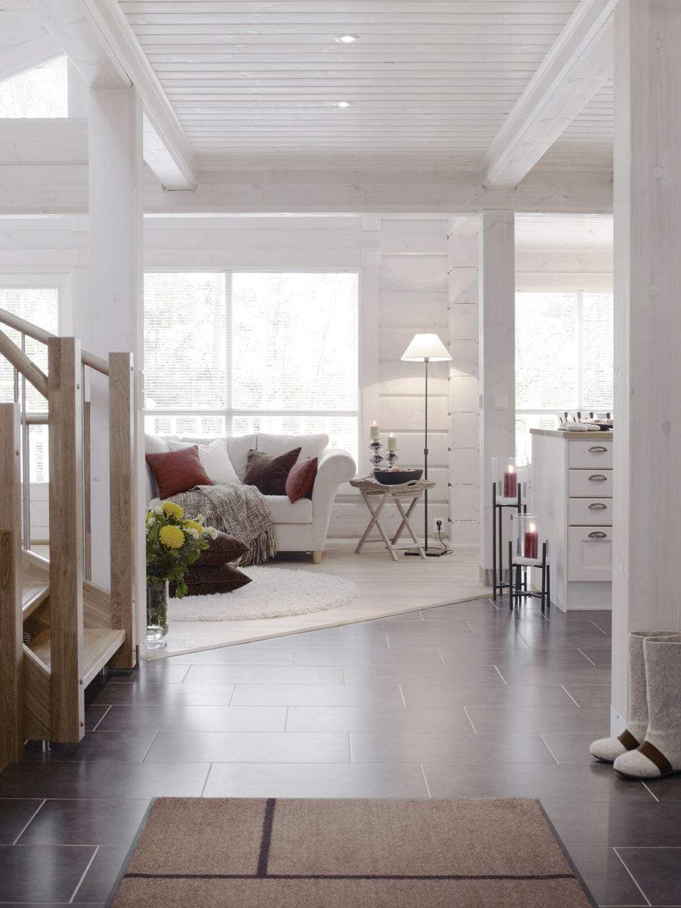 Vaalea hirsi   My future home   Pinterest   Logs, House and Cabin