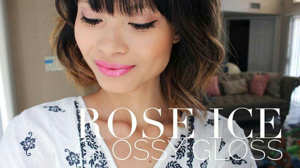 Rose Ice & Glossy