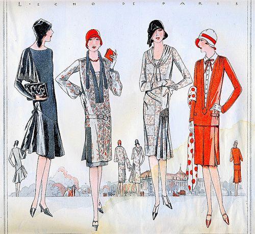 1928 Fashion by christine592, via Flickr