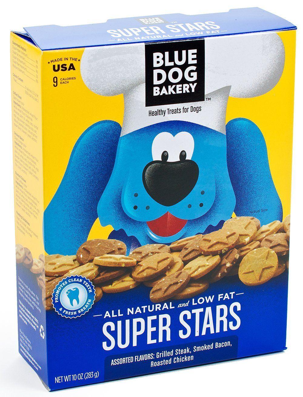 Amazon Com Blue Dog Bakery Super Stars Assorted Small Dog Treats
