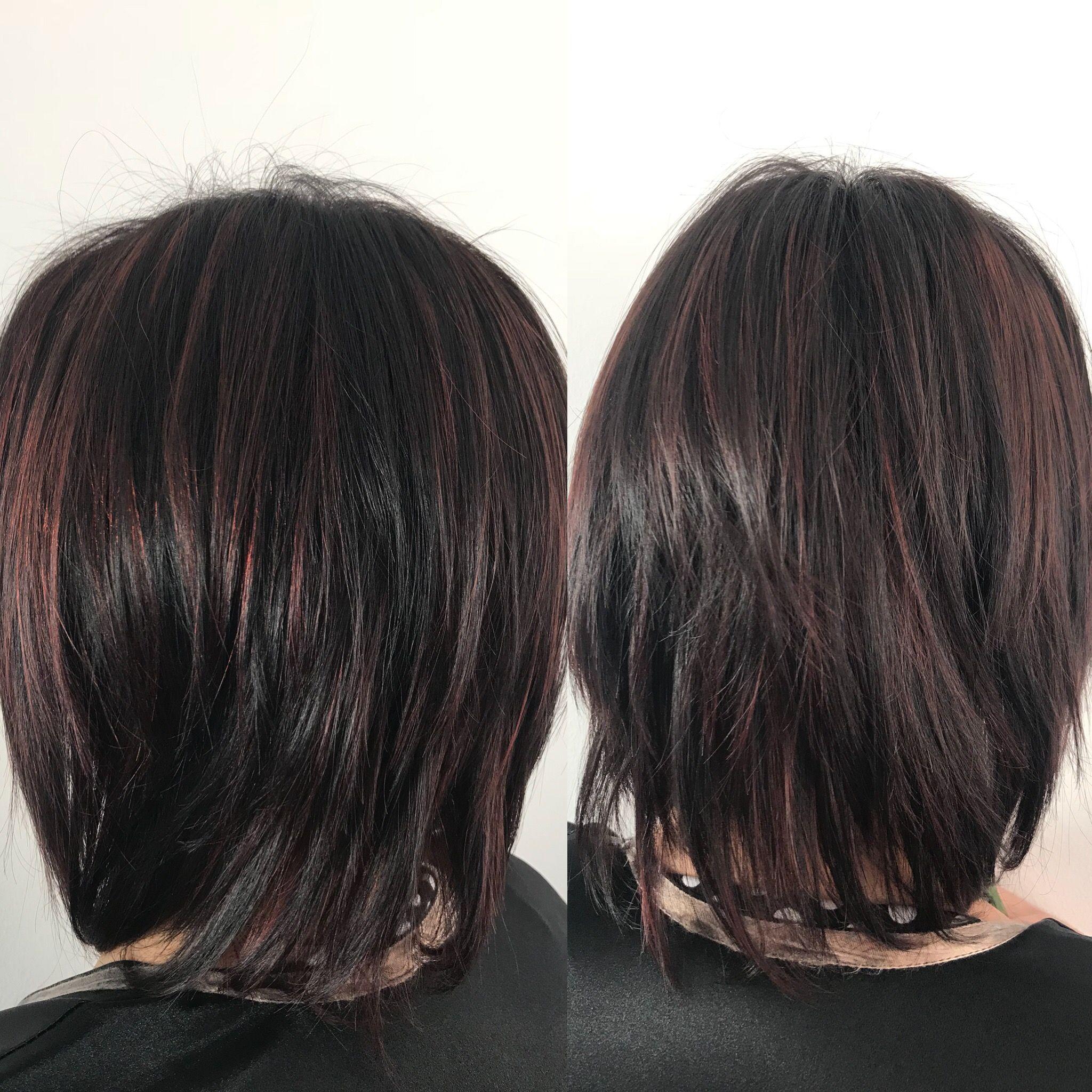 Haircut haircolor wella stylist redhair colorhair wellahair