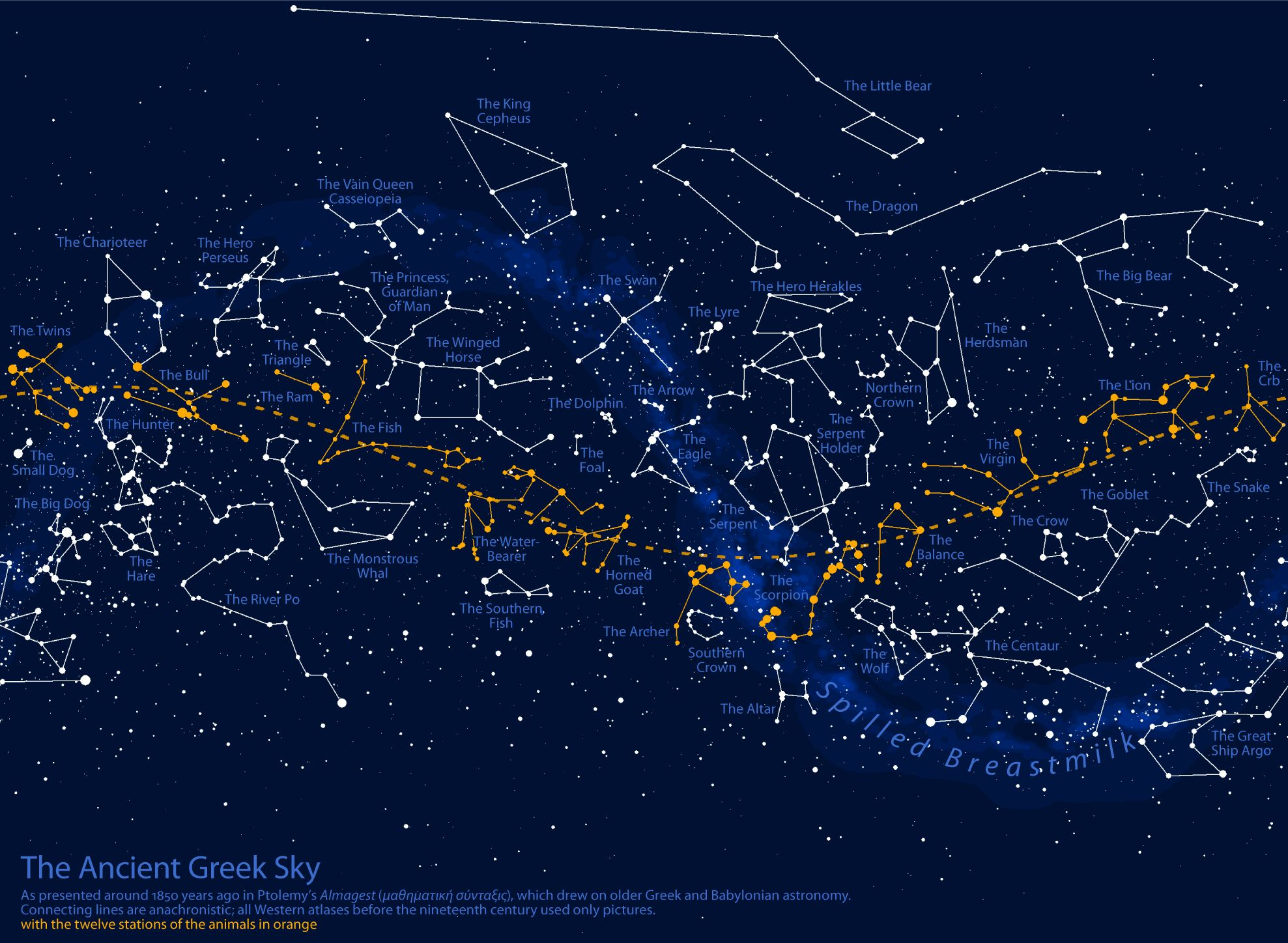 constellation map. constellation map  niebi grekow  pinterest  constellation map