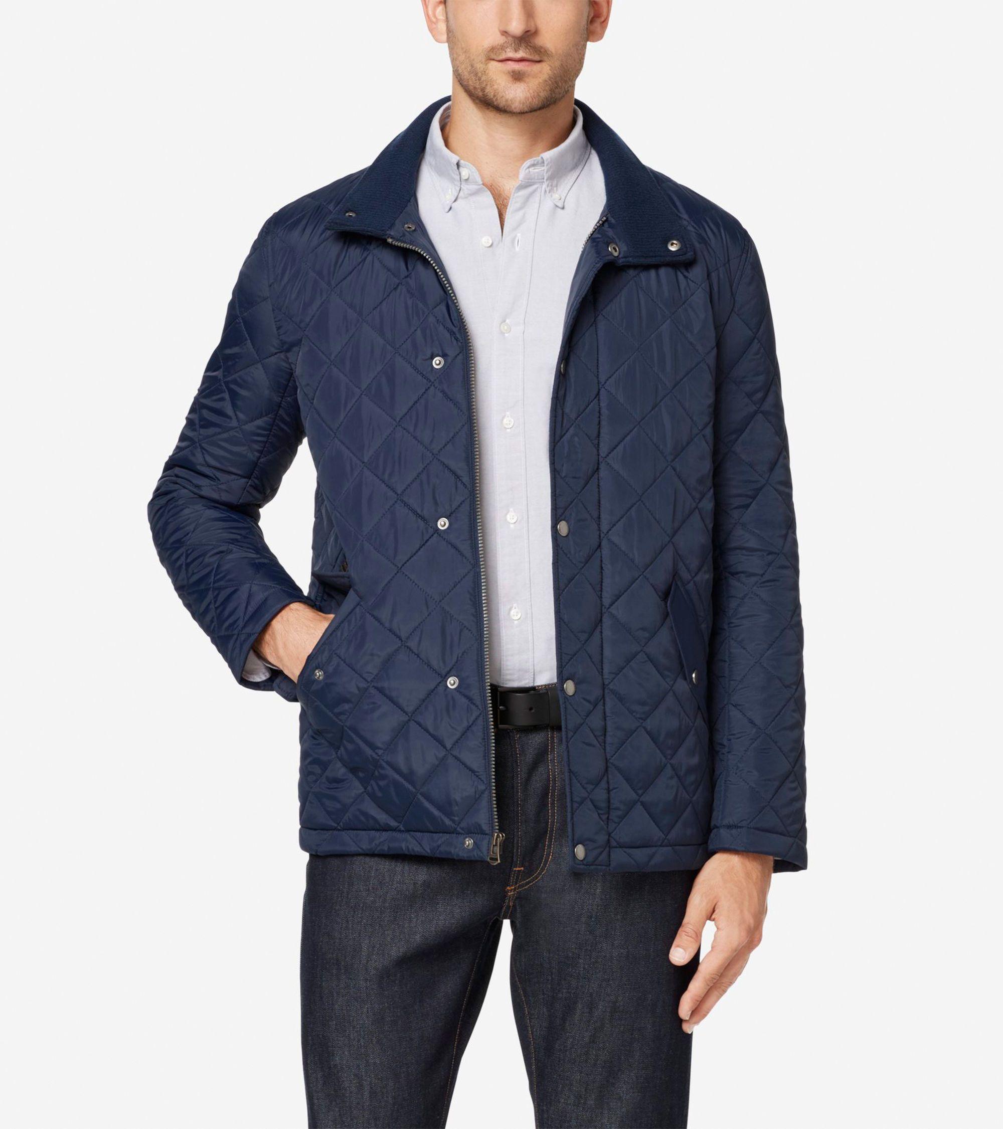 Quilted Barn Jacket Jackets Men S Coats And Jackets Fall Jackets