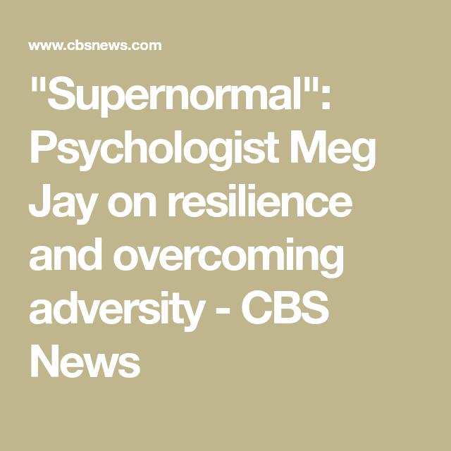 Meg jay psychologist  Book Review  2019-05-03