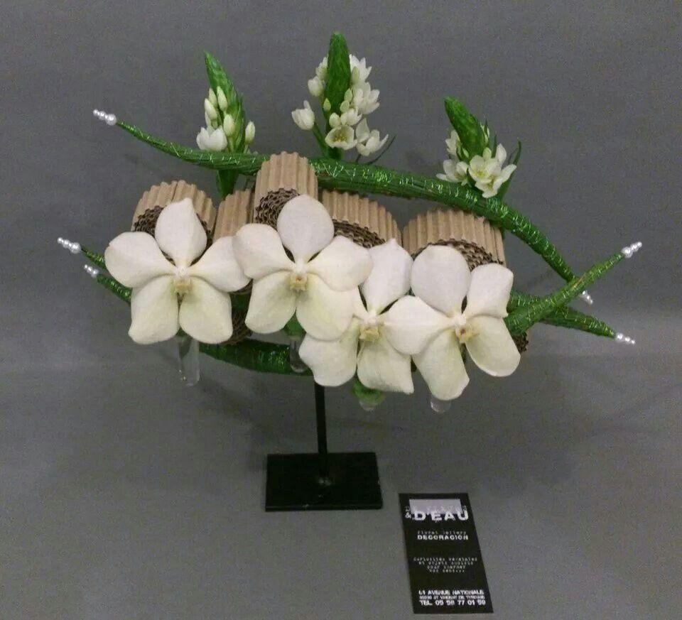Artist De fleurs et d eau fleuriste createur   bloemen 3   Pinterest ... 8e10e550e21