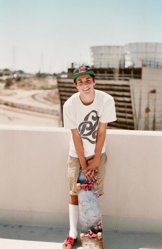 Sexy Men Skater Boy