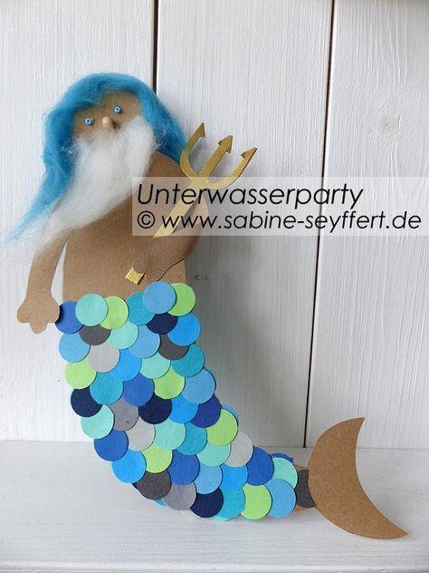 Photo of Kindergeburtstag Mottoparty Unterwasserfest: Bastelspaß für den Kindergeburtst…