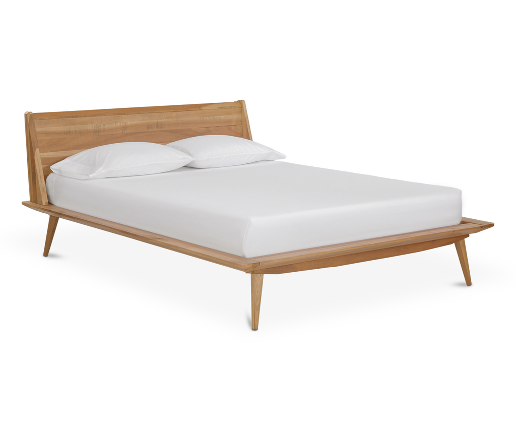 Best Bolig Bed With Images Mid Century Modern Bed 640 x 480