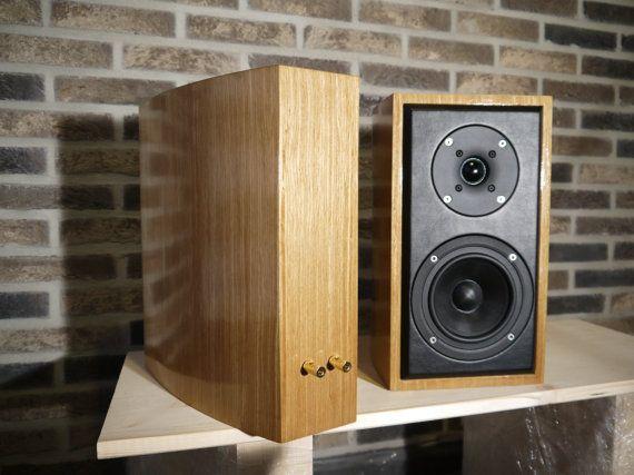 Diy Handmade Speakers Vifa Scan Speak By Mcacoustics On Etsy Diy Speakers Speaker Speaker Design