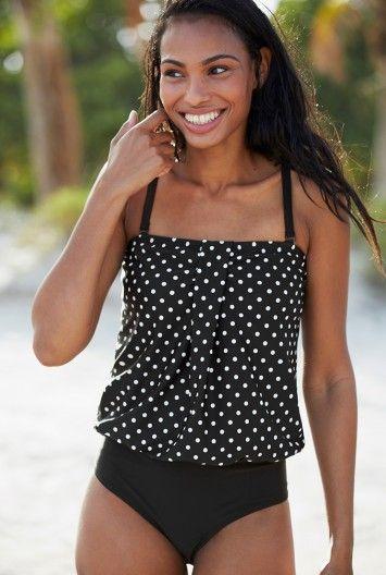 d1325a25b021 Badeanzug mit Punkten   cute clothing   Pinterest   Long tall sally ...
