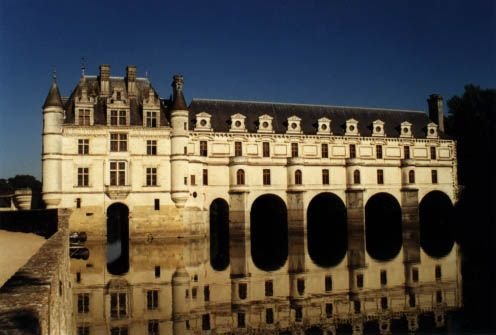 Castle Chenonceau, Loire Valley, Frnce