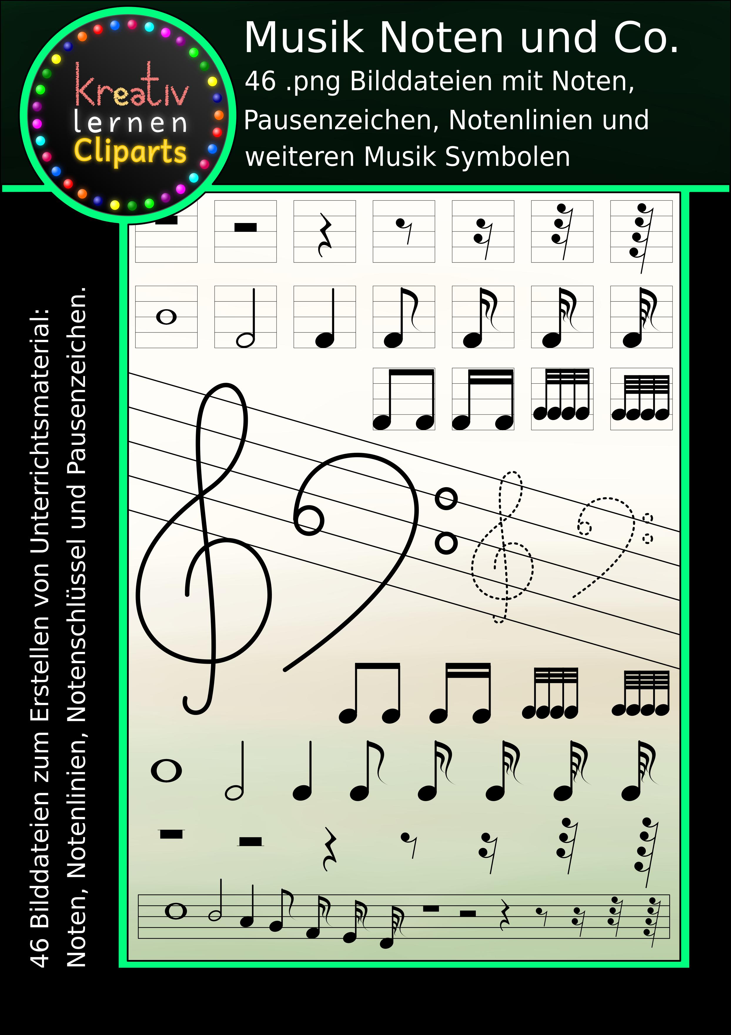 Selbst Material für den Musikunterricht gestalten mit diesen ...