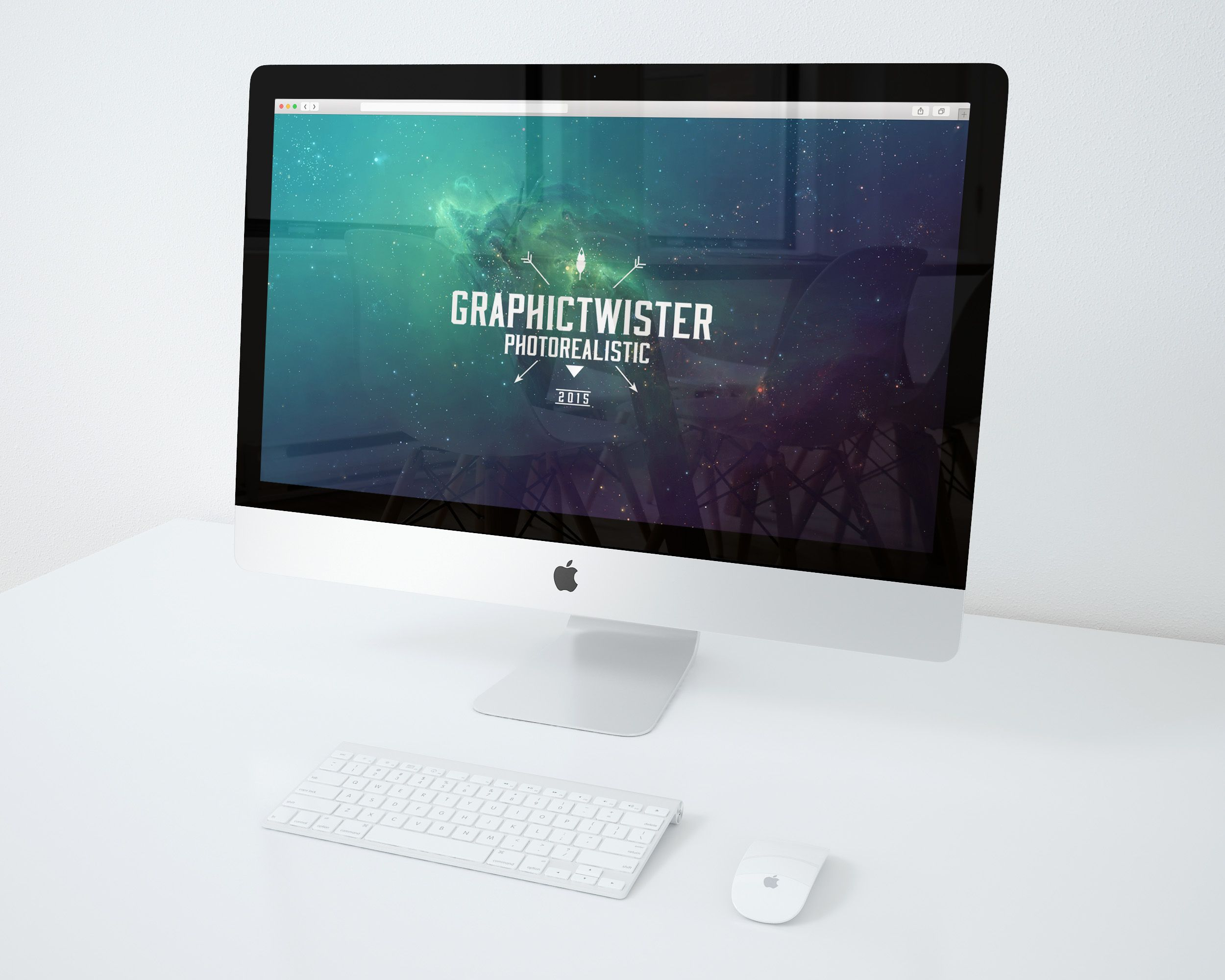 This is free premium iMac psd mockup which is designed by ...