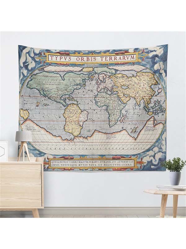 Ancient world map wall hanging tapestryhippie boho beautiful ancient world map wall hanging tapestryhippie boho gumiabroncs Images