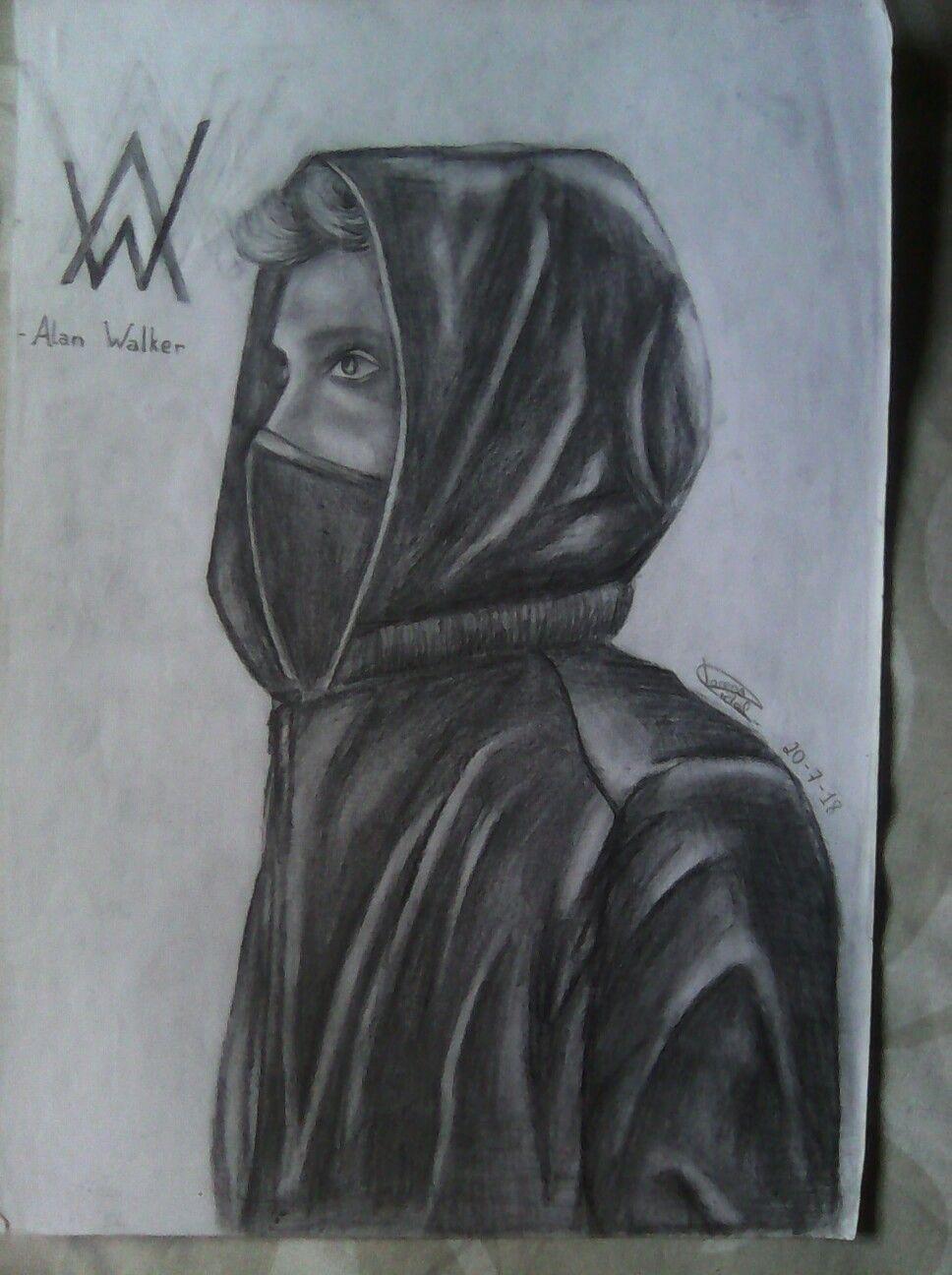 Dibujo a lápiz de Alan Walker | Alan walker, Art, Mola