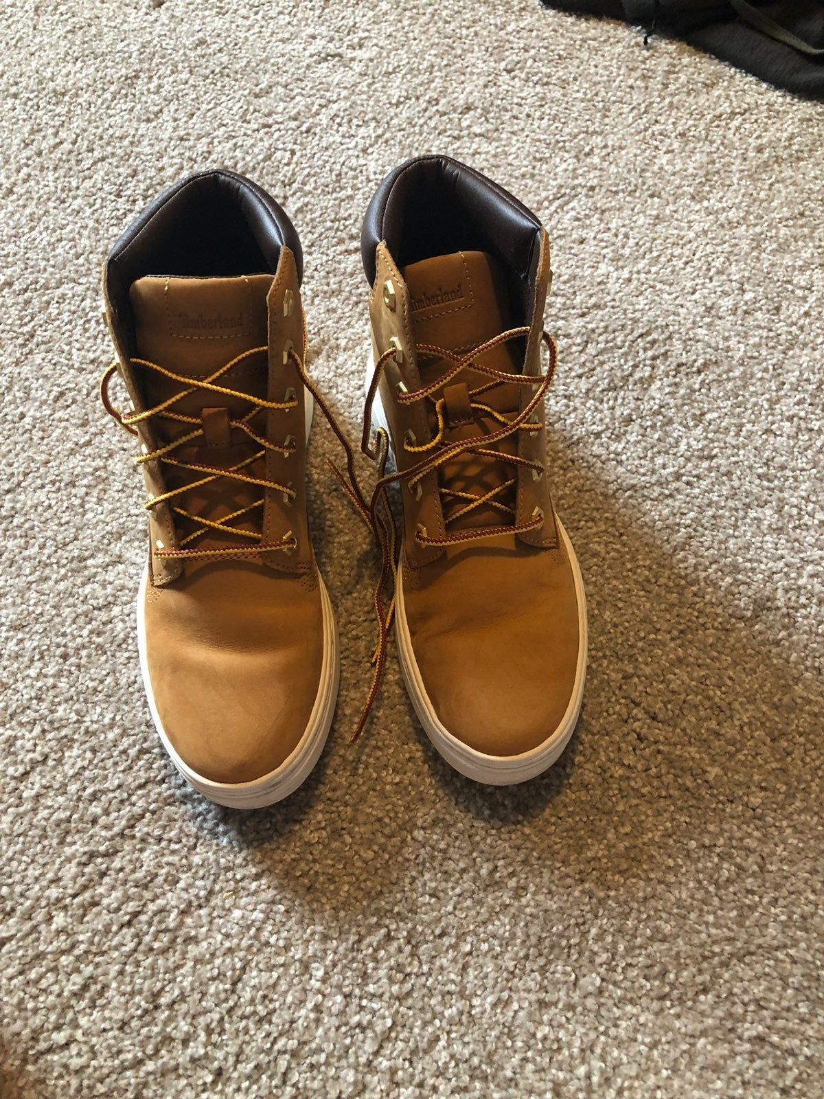 Timberland high top shoes! Worn once