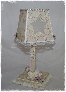 Gunns Papirpyssel, lamp for elektrisk warm light