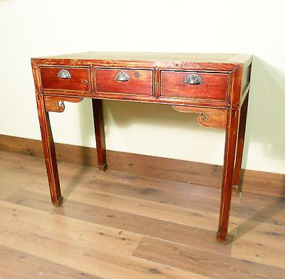 Antique Chinese Desk (5322) (Console Table), Circa 1800-1849 - Antique Chinese Desk (5322) (Console Table), Circa 1800-1849 All