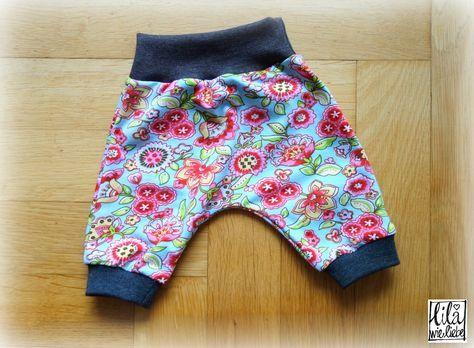 Neugeborenen-, Frühchen- und Puppenhose: Broekje mini - selbst nähen ...