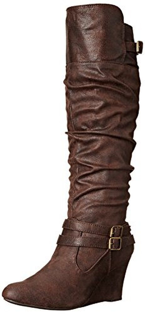 a1298a28b3ed Qupid Women s Vally 07 Slouch Boot
