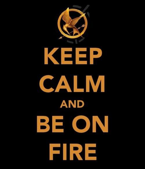 Katniss: the girl on fire